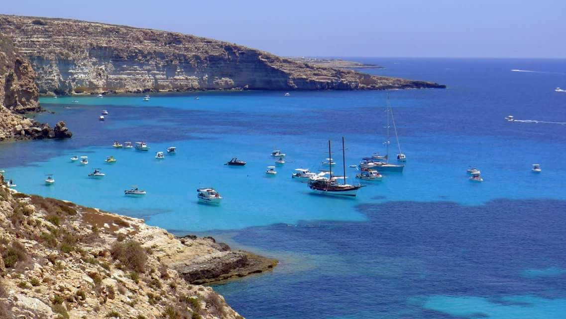 Cala Tabaccara - Lampedusa VIlla Summer
