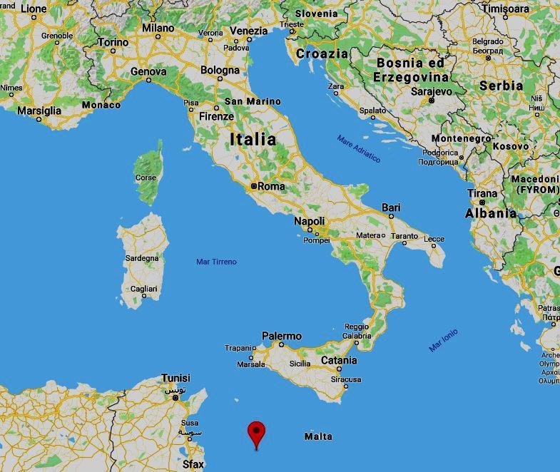 L'Italia e Lampedusa