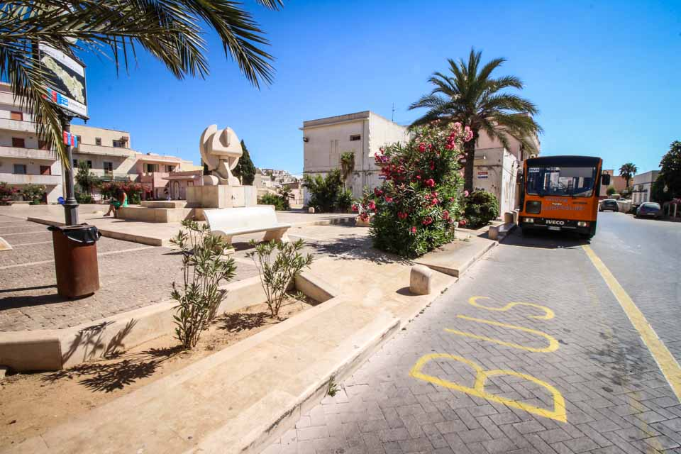 Trasporti locali a Lampedusa